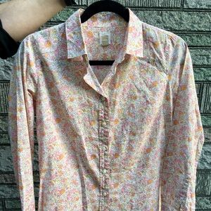 J Crew Perfect Shirt in Vintage Floral (Liberty?)